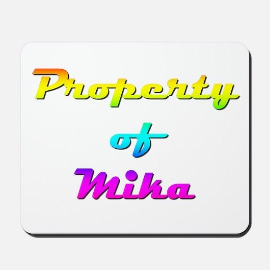 Property Of Mika Female Mousepad