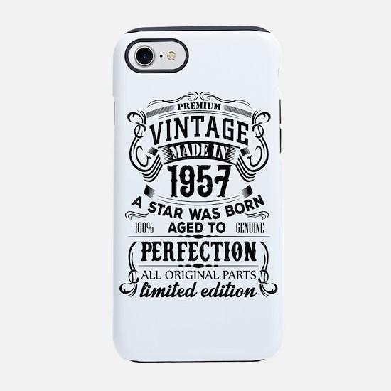 Vintage 1957 iPhone 7 Tough Case