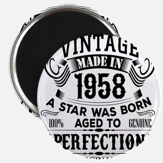 Vintage 1958 Magnets