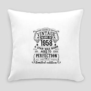 Vintage 1958 Everyday Pillow