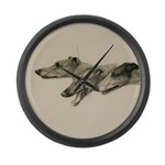 The Greyhounds Large Wall Clock