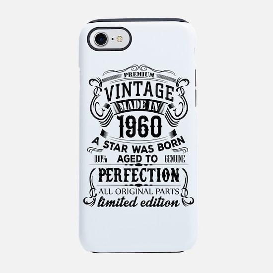 Vintage 1960 iPhone 7 Tough Case