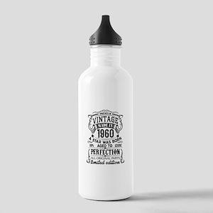 Vintage 1960 Water Bottle