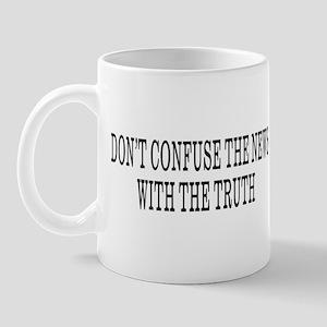 Don't Confuse The News Mug