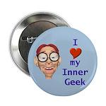 Boy Inner Geek Button
