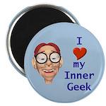 Boy Inner Geek Magnet