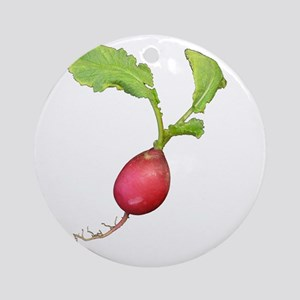 Radish Round Ornament