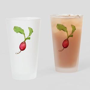 Radish Drinking Glass