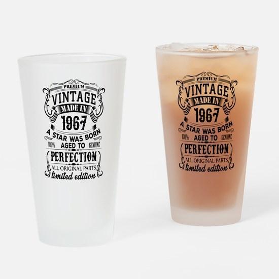 Vintage 1967 Drinking Glass