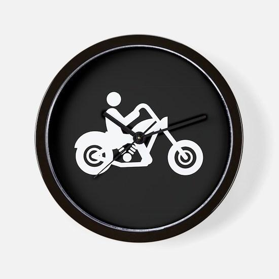 Chopper-Rider-AAB1 Wall Clock