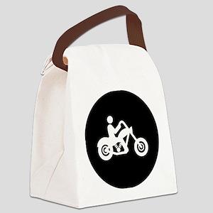 Chopper-Rider-AAB1 Canvas Lunch Bag
