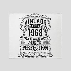Vintage 1968 Throw Blanket