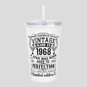 Vintage 1968 Acrylic Double-wall Tumbler