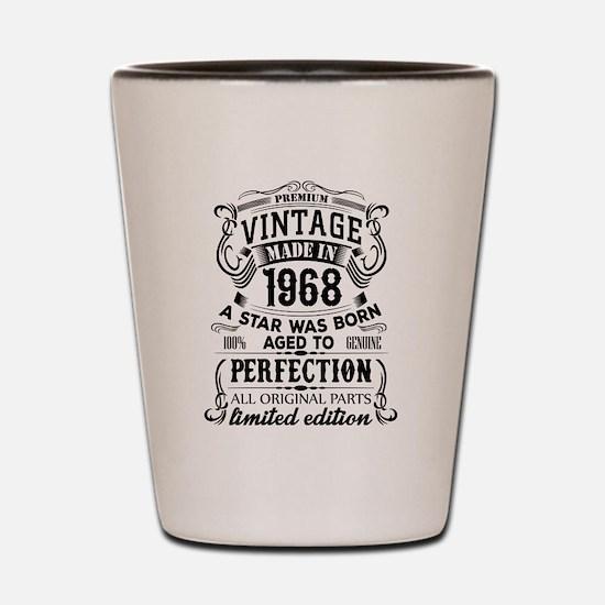 Vintage 1968 Shot Glass