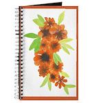 Orange Flower Bunch Journal