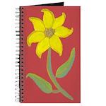Yellow Flower Journal