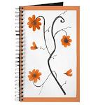 Orange Flower Branch Journal