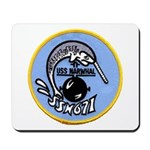 USS NARWHAL Mousepad