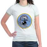 USS NARWHAL Jr. Ringer T-Shirt