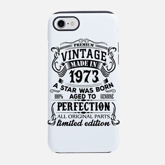 Vintage 1973 iPhone 7 Tough Case