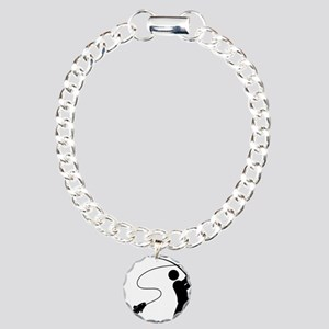 Fly-Fishing-AAA1 Charm Bracelet, One Charm