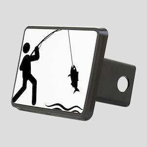 Fishing-AAA1 Rectangular Hitch Cover