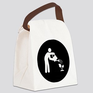 Gardening-AAB1 Canvas Lunch Bag
