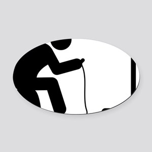 Gaming-AAA1 Oval Car Magnet