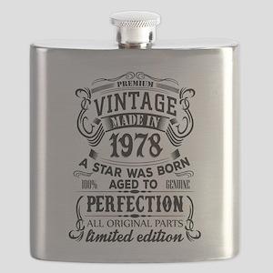 Vintage 1978 Flask