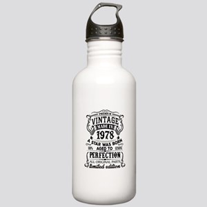 Vintage 1978 Water Bottle