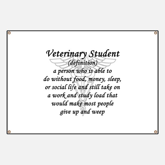 Veterinary Student Definition Banner