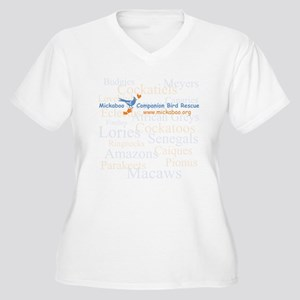 Background Species Women's Plus Size V-Neck T-Shir