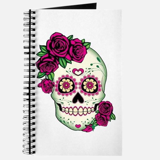 Cool Sugar skull Journal