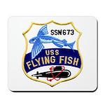 USS FLYING FISH Mousepad