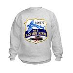 USS FLYING FISH Kids Sweatshirt