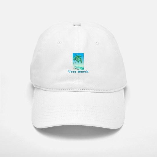 Vero Beach, Florida Baseball Baseball Cap