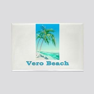 Vero Beach, Florida Rectangle Magnet