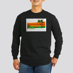 Vero Beach, Florida Long Sleeve Dark T-Shirt