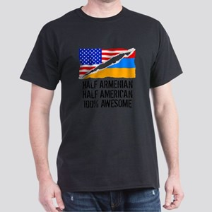 Half Armenian Half American Awesome T-Shirt