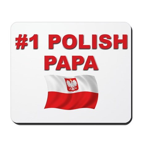 #1 Polish Papa Mousepad