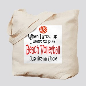 WIGU Beach Volleyball Uncle Tote Bag