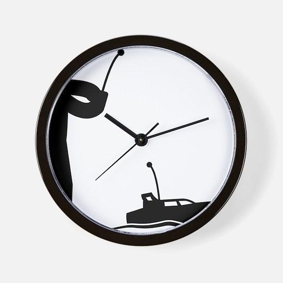 Remote-Control-Boat-AAA1 Wall Clock