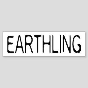 Earthling Sticker (Bumper)