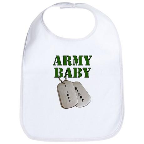 Army Baby - Daddy Bib