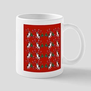 Christmas Saint Bernard Mugs