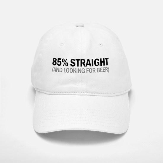 85% STRAIGHT Baseball Baseball Cap