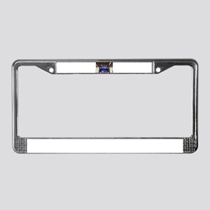 Singapore Airport Social Tree License Plate Frame