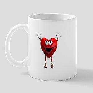Heart Asking for Love Mug