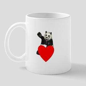 Panda needs your Love! Mug