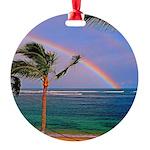 Hawaiian double rainbow Ornament